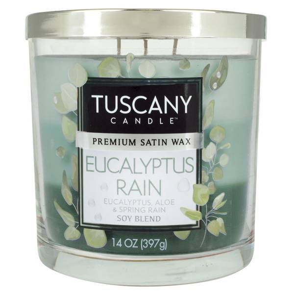 14oz Eucalyptus Rain Candle