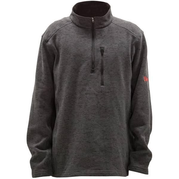 Eskimo Men s Grey Quarter Zip Pullover 3dd82c18c6c5