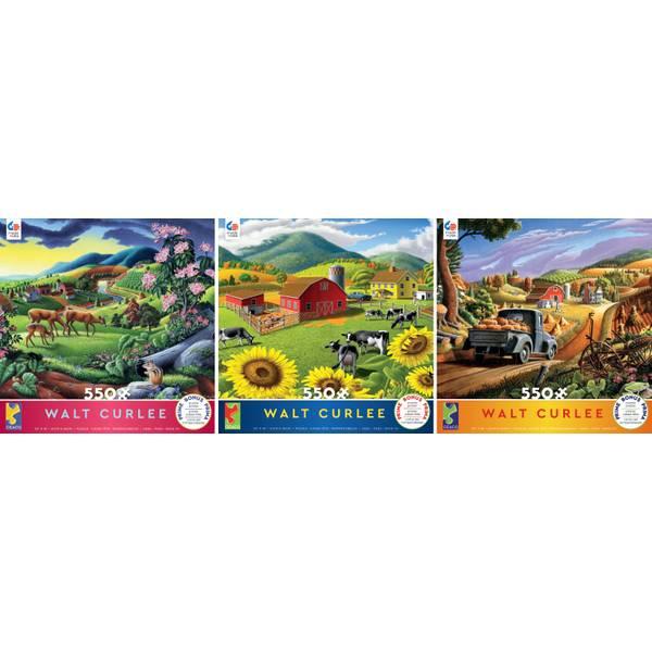 550-Piece Walt Curlee Puzzle