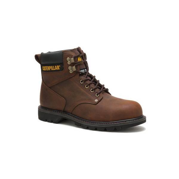 Dark Second Shift Steel Toe Work Boots