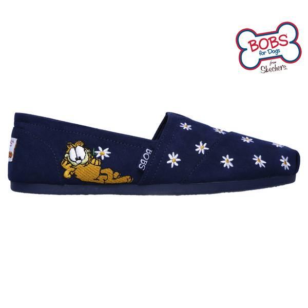 BOBs Plush Daisy Garfield Shoes