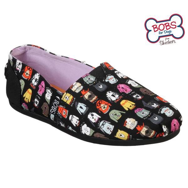 Skechers Bobs Schuhe Angebote , BOBS Plush Wag Crew Damen