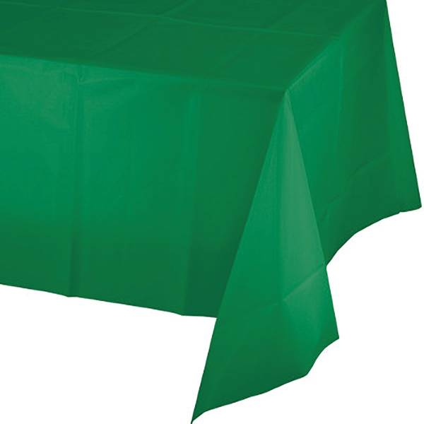 "54"" x 106"" Emerald Green Linette Tablecover"
