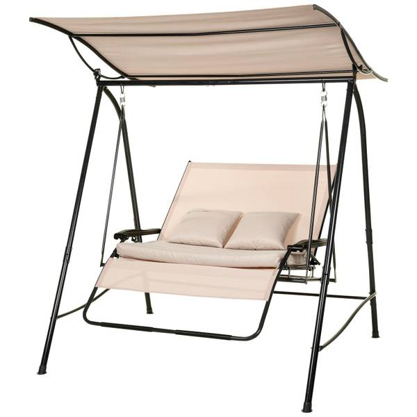 Prestige 2 Person Recycled Canopy Swing