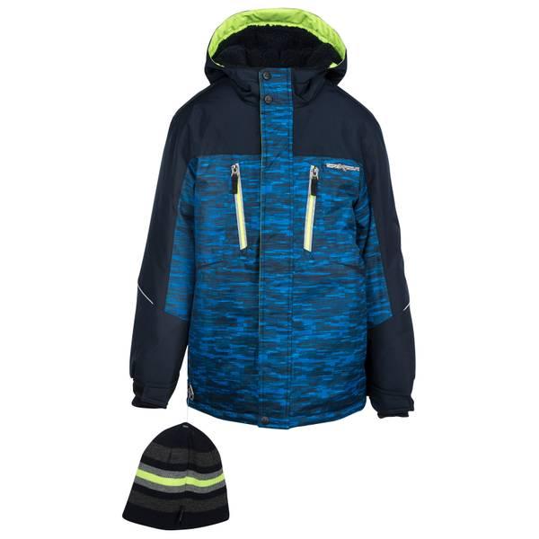 958e4afd1 ZeroXposur Boy s Subzero Snowboard Jacket Heather