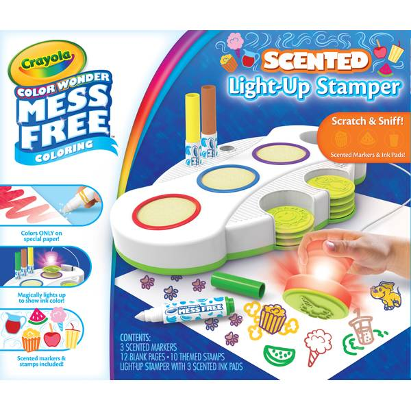 Color Wndr Scntd Light Up Stamp