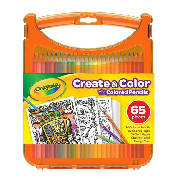 Color & Create Colored Pencils