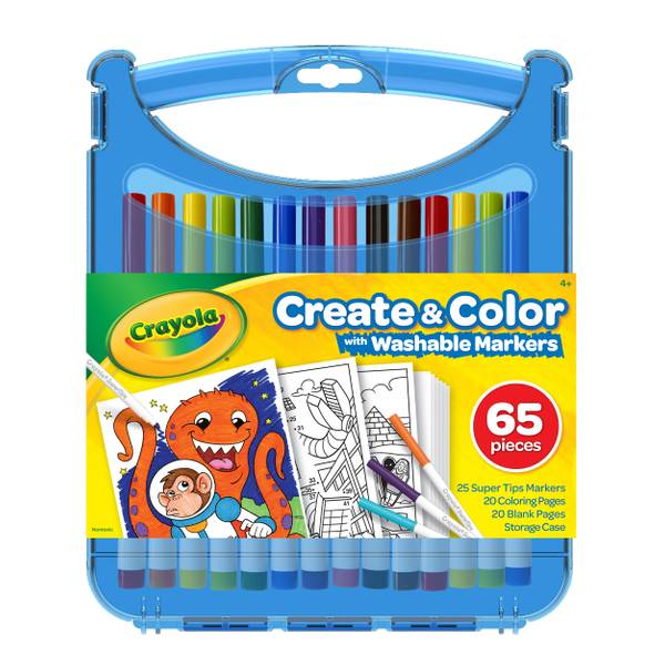 Color & Creat Supertip Markers