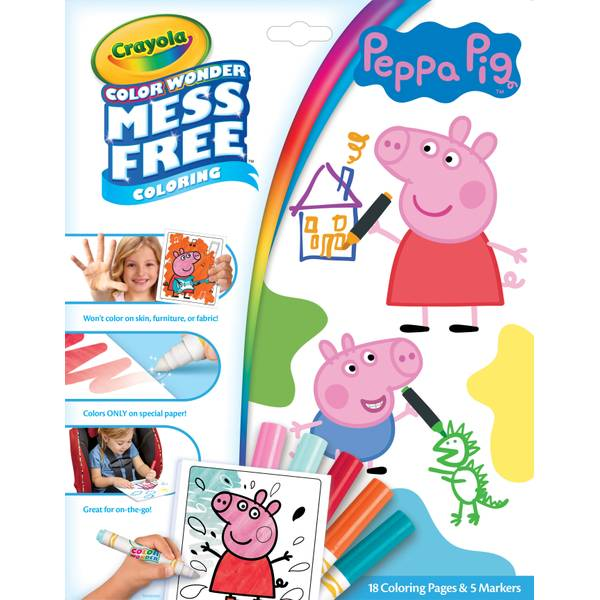 Color Wonder Peppa Pig Foldalope