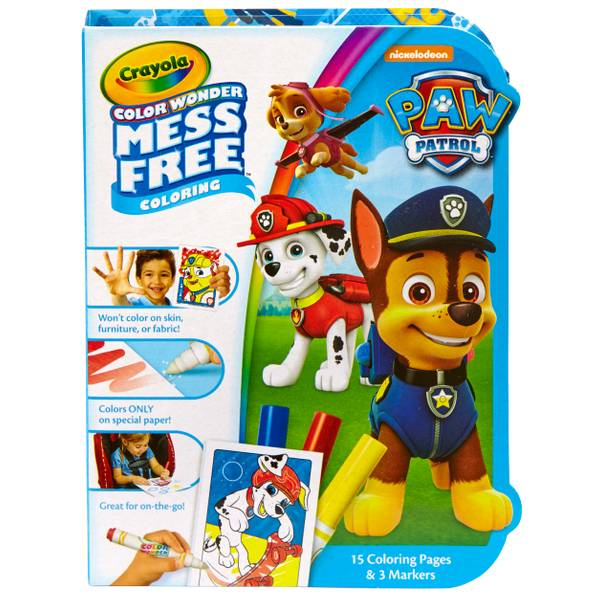 Color Wonder On the Go Paw Patrol