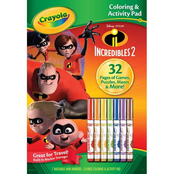 Incredibles Color & Activity Book