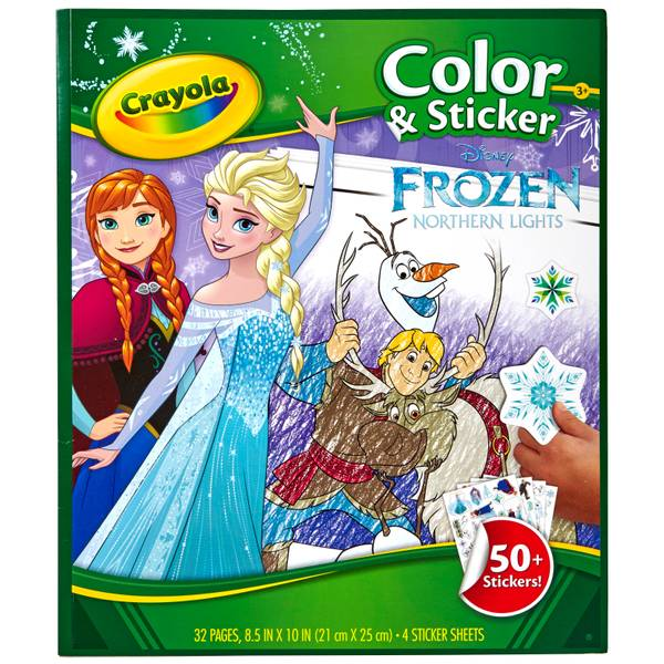 Frozen Color & Sticker Book