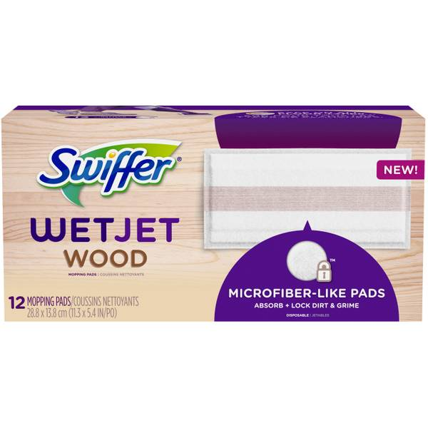 12-Pack WetJet Pad Wood