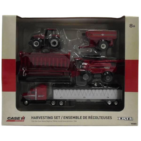 1:64 Case IH Harvesting Set