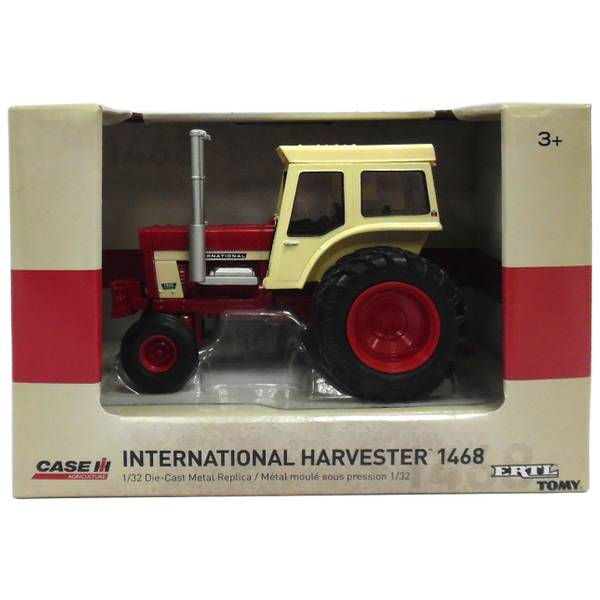 1:32 IH 1468 Tractor with Duals and Cab