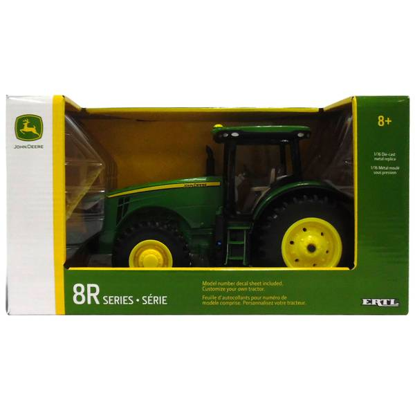 1:16 John Deere 8R Tractor with Decal Sheet