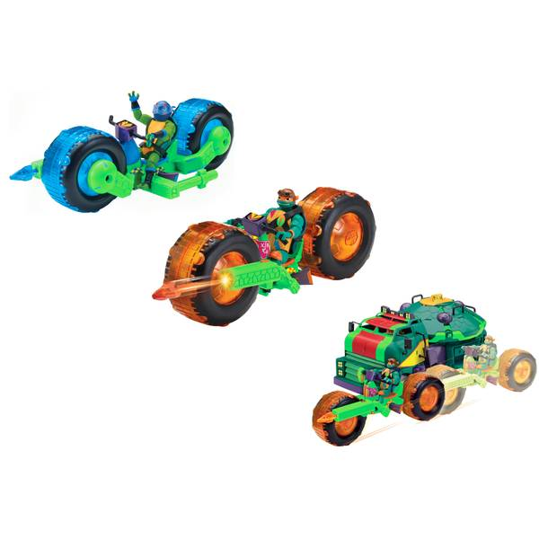 Rise of the TMNT Vehicle withFigures Assortment