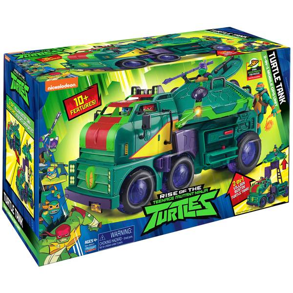 Rise of the TMNT Turtle Tank
