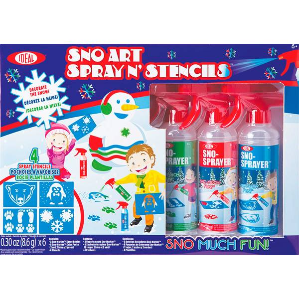 Sno-Art Spray N' Stencils