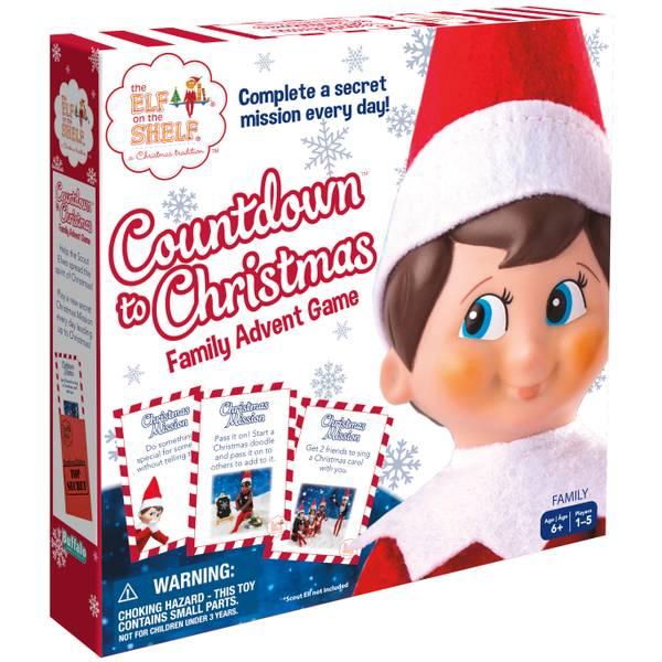 Elf on the Shelf Countdown to Christmas Game