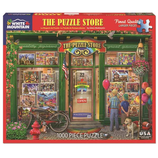 1000-Piece Old Time Shopping Puzzle Assortment