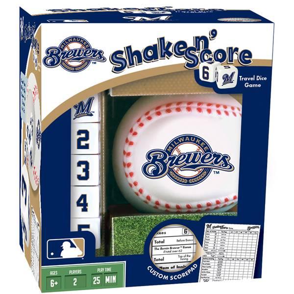 Milwaukee Brewers Shake N Score