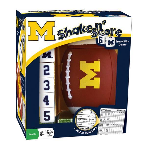 Michigan Shake 'n Score Game
