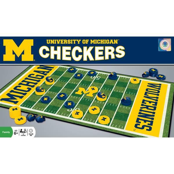 Michigan Checkers Game