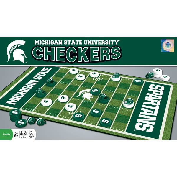 Michigan State Checkers Game