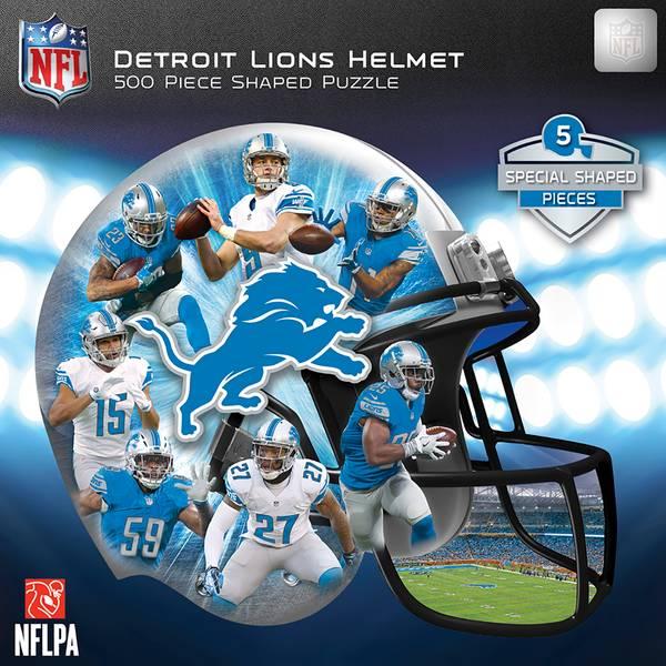 500-Piece Detroit Lions Helmet Puzzle