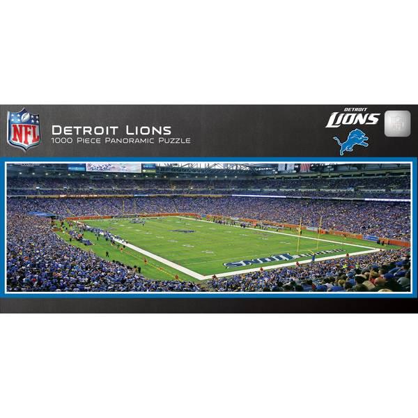 1000-Piece Detroit Lions Stadium Puzzle