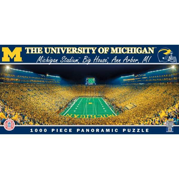 1000-Piece Michigan Stadium Puzzle