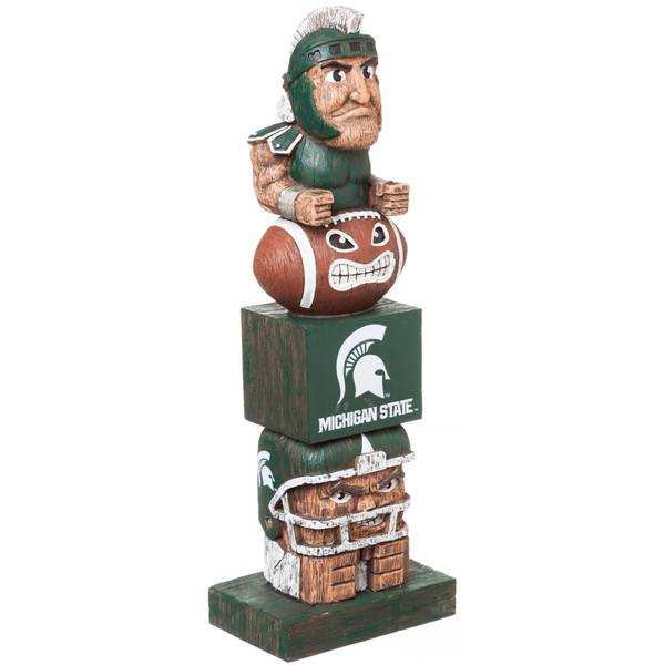 Michigan State Spartans Tiki Tiki Totem