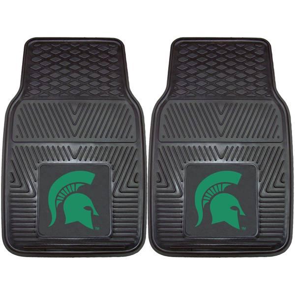 Michigan State Spartans 2-Piece Vinyl Car Mats