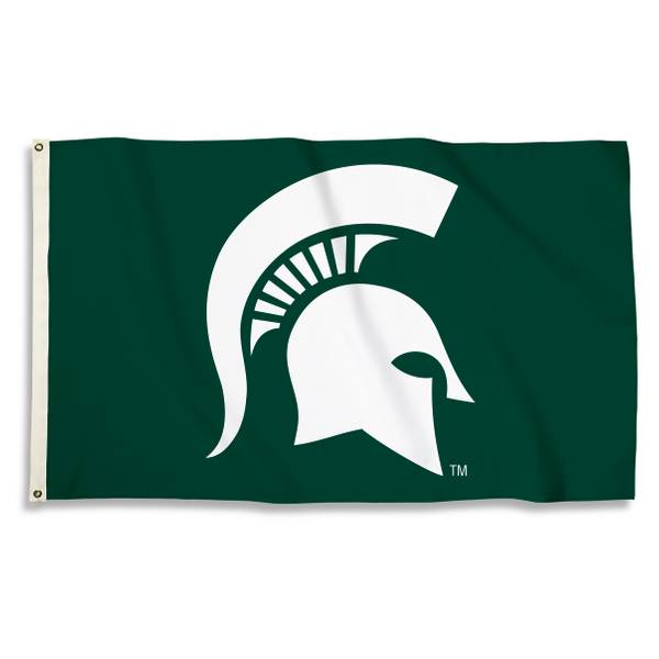 Michigan State Spartans Head 3' x 5' Flag