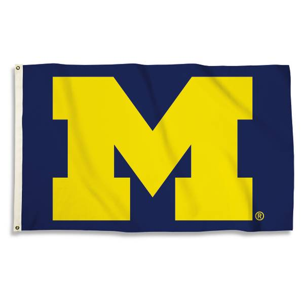 University of Michigan Wolverines 3' x 5' Flag