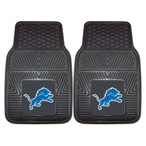 Detroit Lions 2-Piece Vinyl Car Mats