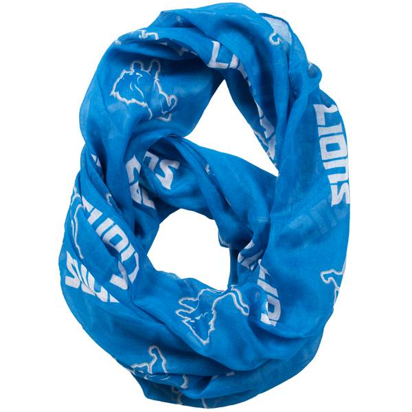 c545910a158 All Star Sports Detroit Lions Sheer Infinity Scarf