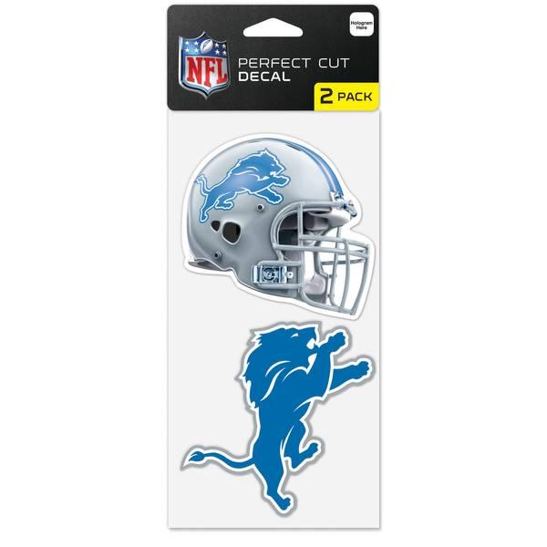 Detroit Lions 2-Piece Die Cut Decals