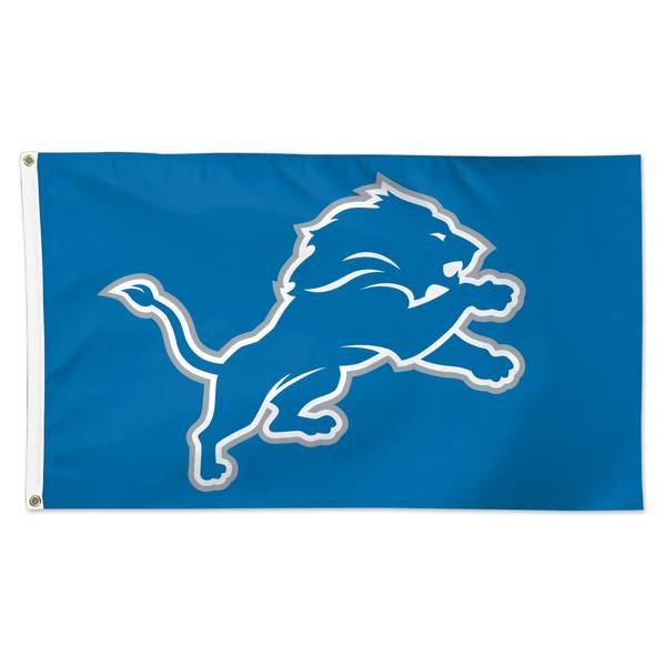 Detroit Lions 3' x 5' Deluxe Flag