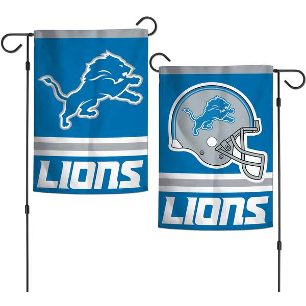Detroit Lions 2-sided Garden Flag