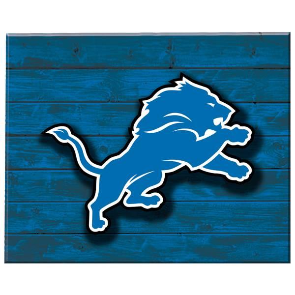 ac378a18 Detroit Lions Lit Wall Decor