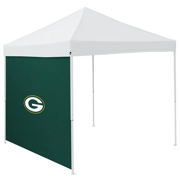 9' x 9' Green Bay Packers Side Panel Canopy