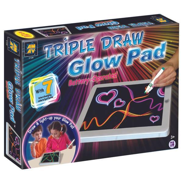 Triple Draw Glow Pad