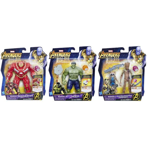 "Avengers 6"" Figures with Accessory Assortment"