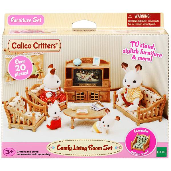 Calico Critters Living Room Set