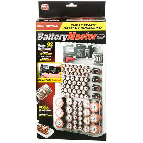 Battery Master Organizer