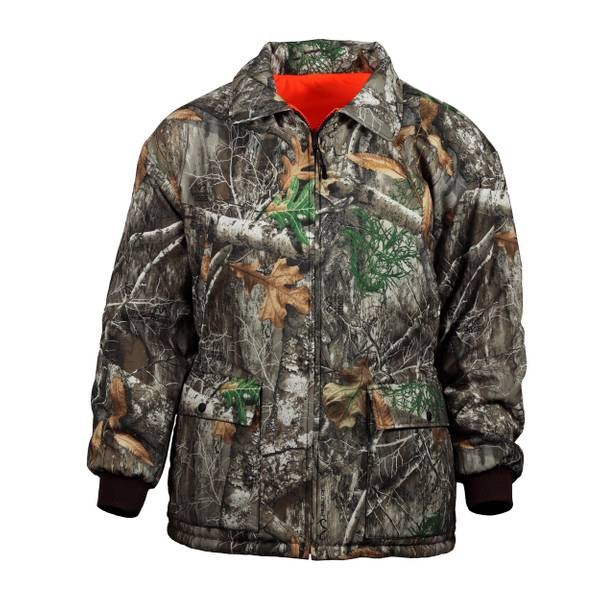 Realtree Men's Reversible Insulated Windproof Parka