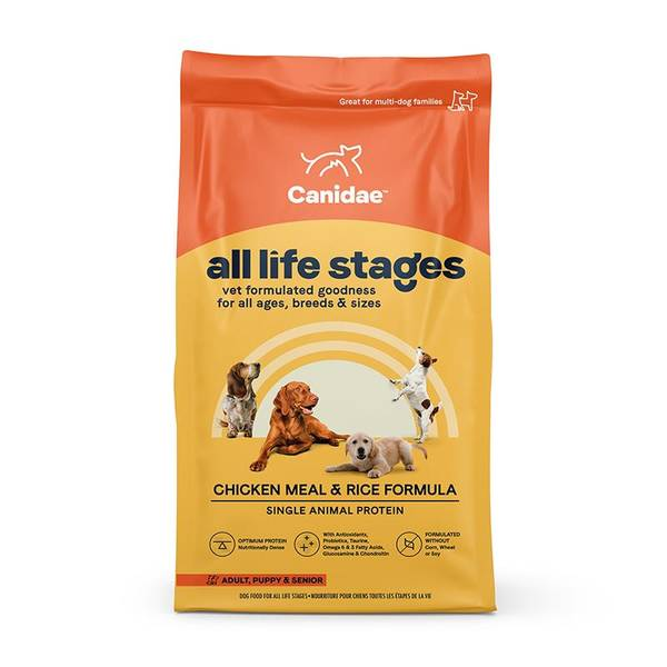 44 lb Life Stages Chicken & Rice Dog Food