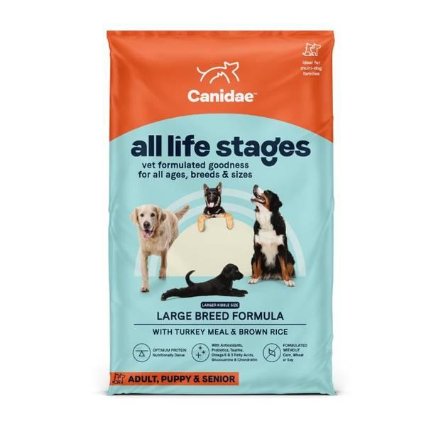 44 lb Life Sturkey  Breed Dog Food